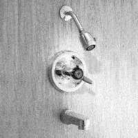 Delta Faucet 1748-74 Tub & Shower Faucet 1handle