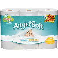 Georgia-Pacific 6303820 Angel Soft Bath Tissue 6dr