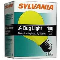 Sylvania/Osram 12763 100 Watt A19 Yellow Incandscent Bulb
