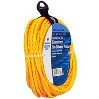 Wellington-cordage 16359 Rope Polyp Twist Yel 1/4x50