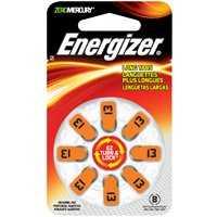 Energizer Battery AZ13DP-8 #13 Hearingaid Battery