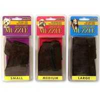 Aspen Pet 6334148 1 in Adj Large Black Muzzle