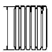 Hancor 04540010H 4x10 Solid Pipe