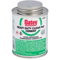 Oatey 31008 32 oz Lovoc Pvc Heavy Duty Clr Cement