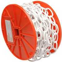 Campbell Chain 072-2004 40 ft White Deco Chain