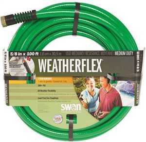 Colorite/Swan SNWF58100 100-Foot Weather Flex Medium Duty Garden Hose