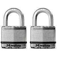 Master Lock M5XT 2-Inch Padlock 2-Pack