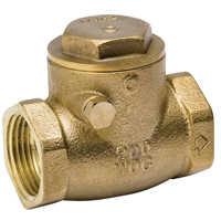 B & K Industries 101-005NL Check Valve Brass 1ips