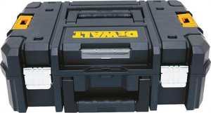 Stanley Tools DWST17807 Tstakii Flat Top Tool Box Black