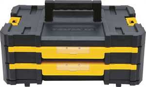 Stanley Tools DWST17804 Double Shallow Drawer Tool Box