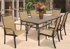 Seasonal Trends T6R60UO3J33 Steel Dining Table