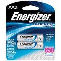 Energizer Battery L91BP-2 Lithium Battery Aa 2pk