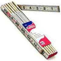 Lufkin 966N 5/8-Inch X 6-Foot 2-Way Wood Folding Rule