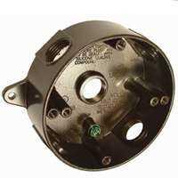 Bell Weatherproof 5361-2 Round Box 5-1/2 in Bronze