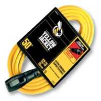 Coleman Cable 2737 12/3x50 ft Lckg Plug Extension Cord