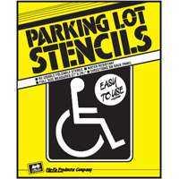 Hy-ko Products PLS-10 37x29-1/4 Parking Lot Stencil