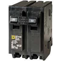 Square D HOM250CP 50a 2p Plugon Circuit Breaker