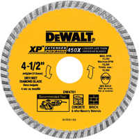 DeWalt DW4701 4-1/2 Dry Cut Diamond Blade