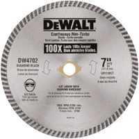 DeWalt DW4702 7 in Dry Cut Diamond Blade