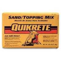 Quikrete 1103-60 Sand/Topping Mix 60#