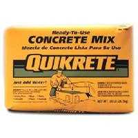 Quikrete 110110 10lb Bag Concrete Mix