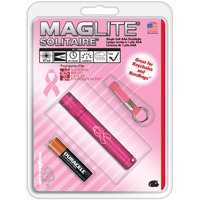 Mag Instrument K3AMW6 Pink Maglite Solitaire National Breast Cancer Foundation