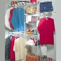 Closetmaid 1608 Deluxe Closet Organizer Kit 5 To 8-Foot
