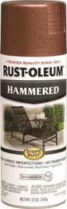 Rust-Oleum 210849 Stops Rust Interior/Exterior Hammered Spray Paint Copper