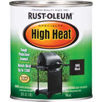 Rust-Oleum 7778502/7778504 Stops Rust Hi Heat Enamel Black