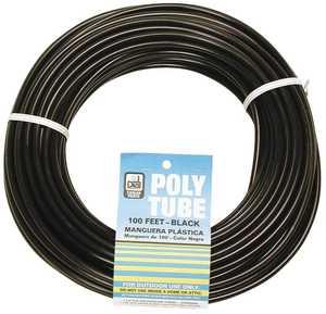 Dial Mfg 4321 1/4 in 100 ft Black Poly Tube