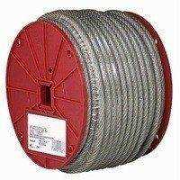 Campbell Chain 700-0897 1/4-5/16 in Coated Cable 200 ft
