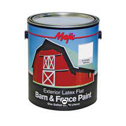 Yenkin Majestic Paint Co 8-0046-1 White Latex Barn & Fence Paint
