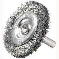 Weiler Corporation 36416 4 in Crimp Wheel Brush Fine