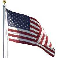 Valley Forge Flag AFP20F 20 ft Aluminum Flag Pole Kit