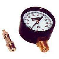Simmons 1305 1/4 in 0-100# Pressure Gauge