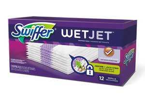 Procter & Gamble 08441 Swiffer Wetjet Pad Refills, 12 Count