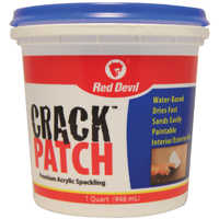 Red Devil 0804 Crack Patch Tub Quart