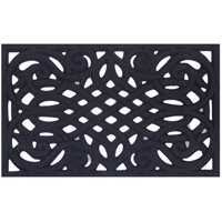 Homebasix 7429665 18x30 Flock Dye Cut Floor Mat
