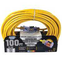 Power Zone ORP511735 Cord 100 ft 14/3 Pro Sjtow