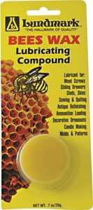 Lundmark Wax Co. 0125070 Bees Wax Lubricating Wax