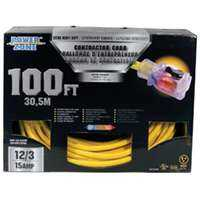 Power Zone ORP511835 Cord 100 ft 12/3 Pro Sjtow