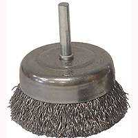 Weiler Corporation 36030 3 in Crmp Cup Brush Coarse