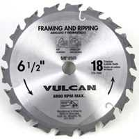 Vulcan 409061OR Carbide Blde Smth Cut 6.5 in X18T