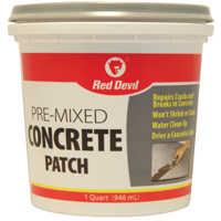 Red Devil 0644 Pre-Mix Concrete Patch Qt