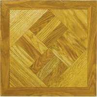 MintCraft ELE-1518-3L Vinyl Floor Tile Wood Geo