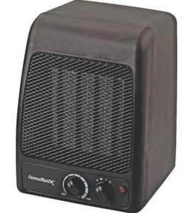 Homebasix PTC-700 750/1500-Watt Ceramic Heater
