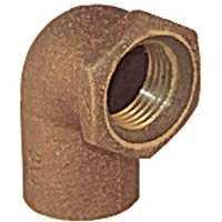 NICHOLS WIRE 6142020 C707-3 1/2 Cxf Cast 90 Elbow