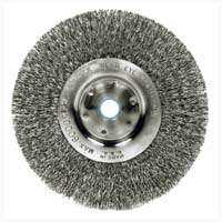 Weiler Corporation 36407 6 in Crimp Wheel Brush Fine