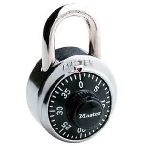 Master Lock 1500D 1-7/8-Inch Wide Steel Combination Dial Padlock