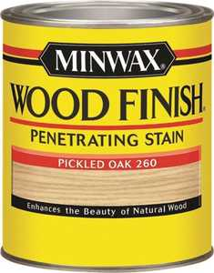 Minwax 70042444 Pickled Oak Wood Finish Stain Quart